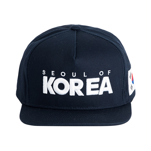 SEOUL OF KOREA 5각 스냅백